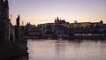 Charles bridge in Prague, Czech time lapse 46365124