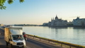 Timelapse of Budapest city with Danube River 46365126