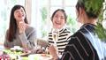 女子会 パーティー カフェの動画 46384893