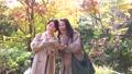 旅行葉子父母和兒童婦女旅遊圖像 46387119