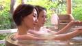 溫泉親子母親和女兒露天浴旅行圖像 46416839