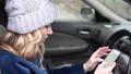 スマホ スマートフォン 自動車の動画 46459764