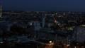 drone aerial vienna city night scene 46460188