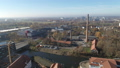 Aerial of Halle Saale FullHD Drone shot of the old Factory Saline 46460192
