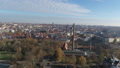 Aerial of Halle Saale FullHD Drone shot of the old Factory Saline 46460202