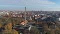 Aerial of Halle Saale FullHD Drone shot of the old Factory Saline 46460203