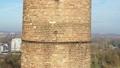 FullHD drone shot of a brick chimney 46460211