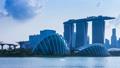 Singapore Cityscape Time Lapse (pan shot) 46463903