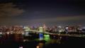 遊戲中時光倒流 - 東京灣和東京天際線夜景縮小 46466188