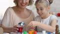 child, daughter, decorating 46492056