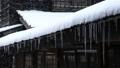 Snow scene of hot spring hotel 46499926