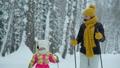 ウィンター 冬 おかあさんの動画 46500871