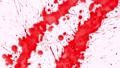 Red blots splashing on blank paper 46506926