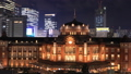 Tokyo Station Marunouchi light up 2018 timelapse zoom out 46553614