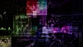 Stock indexes in the virtual space 46627352