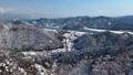 雪景色の城崎温泉と降雪用CG素材【素材No46652796】との合成動画 46653008
