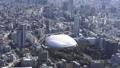 空撮 東京 ヘリ ランドマーク 東京ドーム 46697915