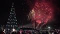 Celebration fireworks of Happy New Year 46749156