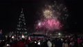 Celebration Fireworks in Honor of Happy New Year 46749220