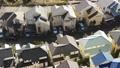 東京湧現的住宅區鳥瞰圖在郊區 46832074