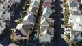 東京湧現的住宅區鳥瞰圖在郊區 46832075