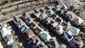 東京湧現的住宅區鳥瞰圖在郊區 46832476