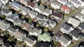 東京湧現的住宅區鳥瞰圖在郊區 46845565