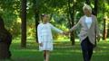 child, elderly, grandchild 46892916