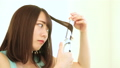 髪 ヘアースタイル アイロンの動画 46925882