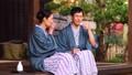 中间资深夫妇温泉旅行Yukata Ryokan图象 46989633