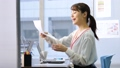 女商人書桌工作辦公室企業圖像 47105609