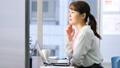 女商人書桌工作辦公室企業圖像 47111396