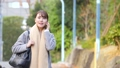 女商人秋天外套OL生活方式图象 47112524