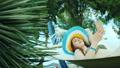 ハンモック 女の子 女子の動画 47115533
