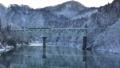 只見川第二橋梁を走る只見線 47138582