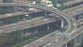 Aerial view traffic junction cross road in Bangkok 47150361