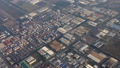 Aerial view on Bangkok city from plane 47150371