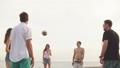 ビーチ 浜辺 バレーの動画 47153225