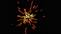 Abstract colorful firework loop animation 47154744