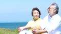 シニア 夫婦 寄り添うの動画 47234298