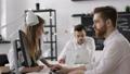 Diverse Businessman Group Planning Start Up Team Work in Modern Creative Office 47268574