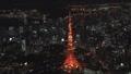 東京タワーの夜景空撮 47284536