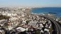 關東鳥瞰風景神奈川大磯港口和一號路線的大磯 47285065