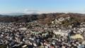 Kanto鳥瞰圖風景城市景觀和神奈川大磯東海道線 47285081