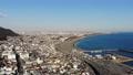 關東鳥瞰風景神奈川大磯港口和一號路線的大磯 47285088