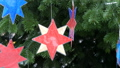 Various Christmas and New Year's toys, balls and decorations on a Christmas tree. Preparation for 47302831