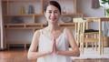 中年女性瑜伽美女形象 47319913