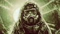 Man in protective suit and gas mask. 47334695