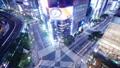 东京银座Suumayabashi争夺交叉点时间间隔索尼公园牌弄脏处理是倾斜 47406367