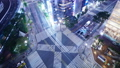 东京银座Suumayabashi争夺交叉时间流逝新地标索尼公园招牌模糊处理是狭窄的 47406369